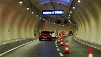 Avrasya Tüneli trafiğe kapatıldı!