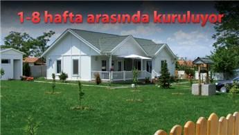 Bu evlerin fiyatı 40 bin 850 liradan başlıyor!