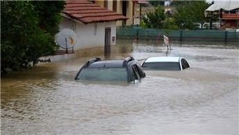 Metrekareye en çok yağış Silivri Çanta Mahallesi'ne düştü