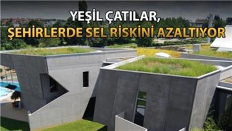 ÇATIDER'den sel riskine karşı yeşil çatı önerisi!