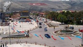 Erzincan'da iki katlı bina satışa çıkarıldı