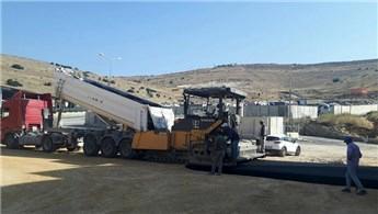 Hatay Cilvegözü sınır kapısında inşaat çalışmaları devam ediyor
