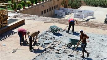 Şanlıurfa Balıklıgöl'de altyapı çalışmaları başladı
