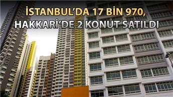 Türkiye genelinde haziranda 97 bin 579 konut satıldı