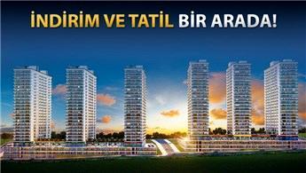 Mina Towers'ta daire alanlara tatil fırsatı!