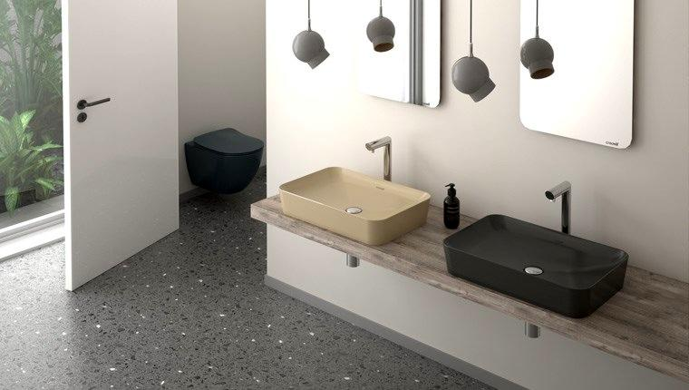 Creavit, banyolarda alışılagelmiş renklerin dışına çıkarıyor