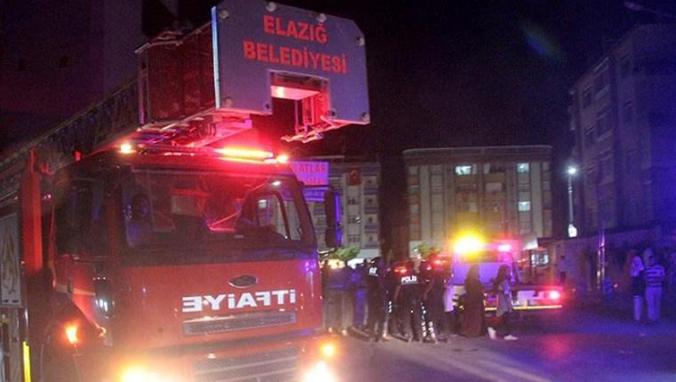 Elazığ'da düğün salonunda yangın!