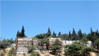 Kahramanmaraş Kalesi'nde onarım çalışmaları başladı