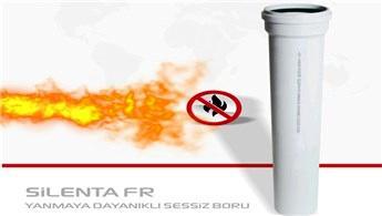 SILENTA FR ile binalar yangına dayanaklı!