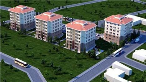TOKİ'nin Edirne'deki 137 konutunun halesi yapıldı