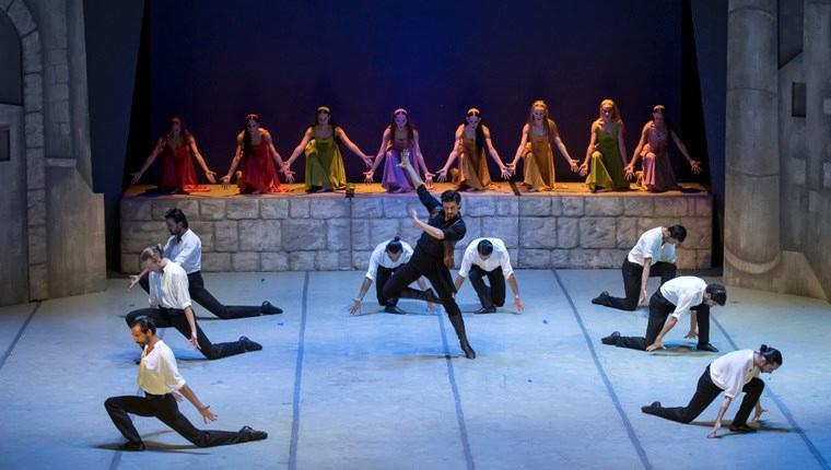 """""""Zorba"""" balesi Mahall Ankara'nın sponsorluğunda sahneye konuldu"""
