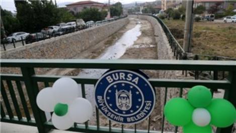 Bursa'da 3 köprü projesi ile dere ıslah çalışmaları tamamlandı