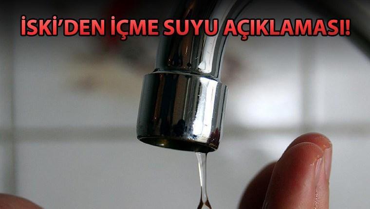 'İçme suyuna kanalizasyon karıştığı iddiası asılsızdır'