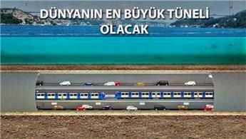 Büyük İstanbul Tüneli için ilk adım atıldı!
