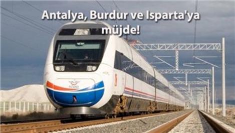 Üç ile yüksek hızlı tren projesi geliyor