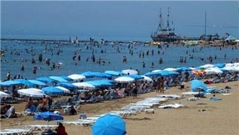 Turizm geliri ikinci çeyrekte  yüzde 8,7 arttı