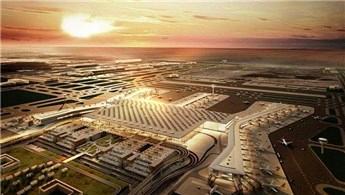 3. Havalimanı'ndaki AVM ve otopark inşaatı yükseliyor