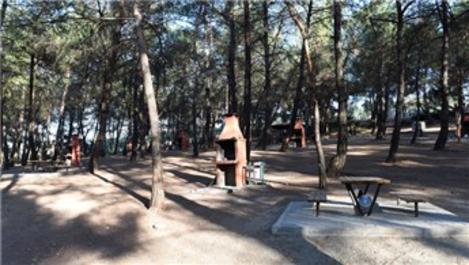 Bursa Güzelyalı'daki yeni mesire alanı açıldı!