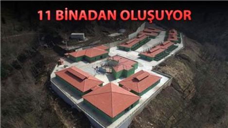 Trabzon'da 4,5 milyon liralık barınak inşa edildi