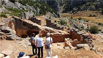 Olba Antik Kenti'nde kazı çalışmaları sürüyor