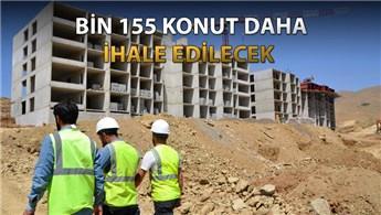 Yüksekova'daki bin 830 konutun inşası sürüyor