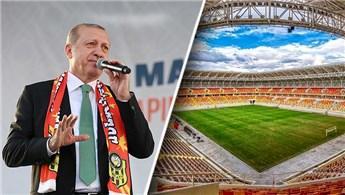 Cumhurbaşkanı Erdoğan Malatya Stadyumu'nun açılışını yaptı