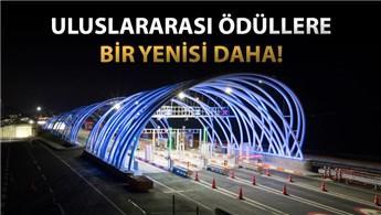 Avrasya Tüneli, aydınlatma tasarımıyla ödül aldı