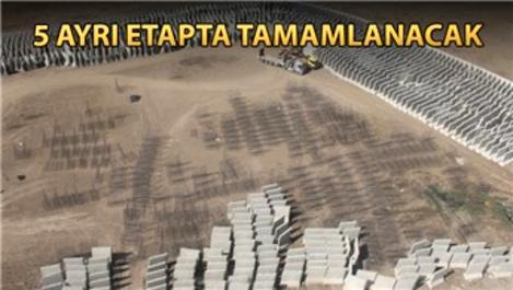 Türkiye-İran sınırındaki güvenlik duvarının inşaatı başladı