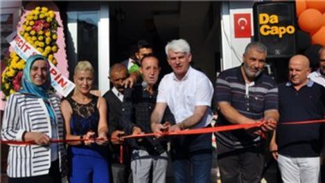 Recep Sert, Bursa'da iş yeri açtı