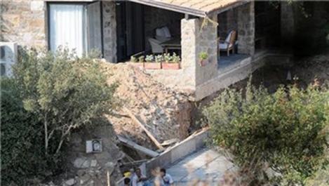 Sertap Erener, Bodrum'daki evine havuz yaptırıyor