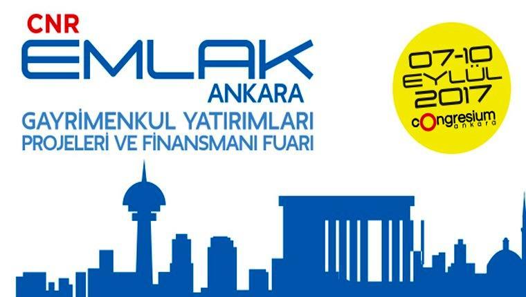 CNR Emlak Ankara Fuarı, 7-10 Eylül'de yapılacak!