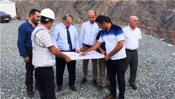 Yusufeli'nin yeni yerleşim yerinde çalışmalar sürüyor