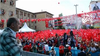 Cumhurbaşkanı Erdoğan, Isparta'da toplu açılış yaptı