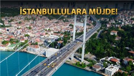 15 Temmuz Şehitler Köprüsü'ndeki çalışmalar bitiyor