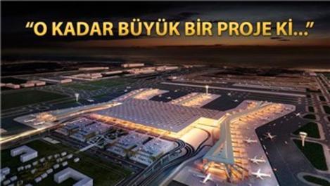 Mega proje 3. Havalimanı uzaydan da görülebiliyor