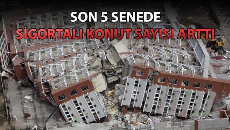 'Türkiye'de 8 milyon sigortalı konut var'