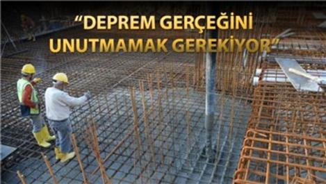Konut alırken beton kalitesine dikkat edilmeli!