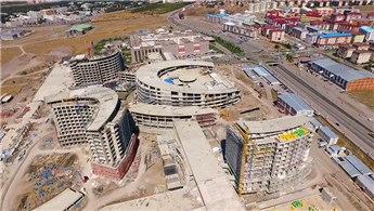 Erzurum Şehir Hastanesi'nin yüzde 65'i tamamlandı