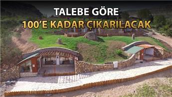 Sivas'taki Hobbit Evleri'ne 17 tane daha eklenecek