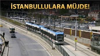 Zeytinburnu tramvay durağı yerin altına iniyor