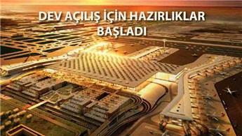 3. Havalimanı'nın açılışı için 200 farklı senaryo!