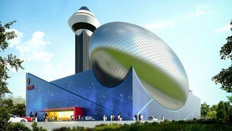 Türkiye'nin ilk uzay temalı eğitim merkezi Bursa'da inşa ediliyor