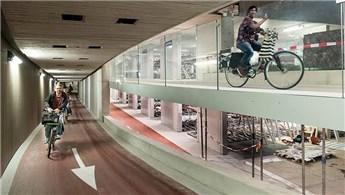 22 bin bisiklet kapasiteli garaj açılıyor!