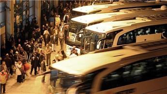 Otobüs firmalarının ek sefer süresi uzatıldı