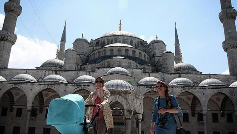 İstanbul 207 ülkeden turisti ağırladı