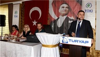 Uşak'ta TOKİ'ye ait 397 dükkan için ihale düzenlendi