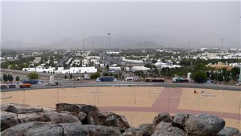 Arafat'ta Türk hacı adayları klimalı çadırlarda vakfe yapacak