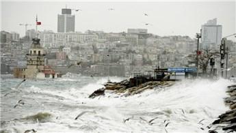 İstanbulluya fırtına uyarısı!