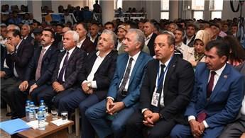 Bakan Ahmet Arslan Kars Lojistik Merkezi'ni inceledi