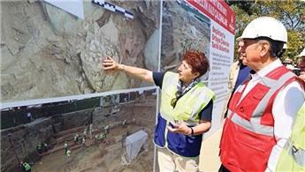'Arkeolojik kazılar uzarsa metro çalışmaları etkilenir'
